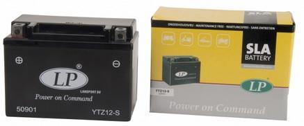 Baterie motocicleta LANDPORT LP YTZ12-S POWER ON COMMAND 12V 11AH