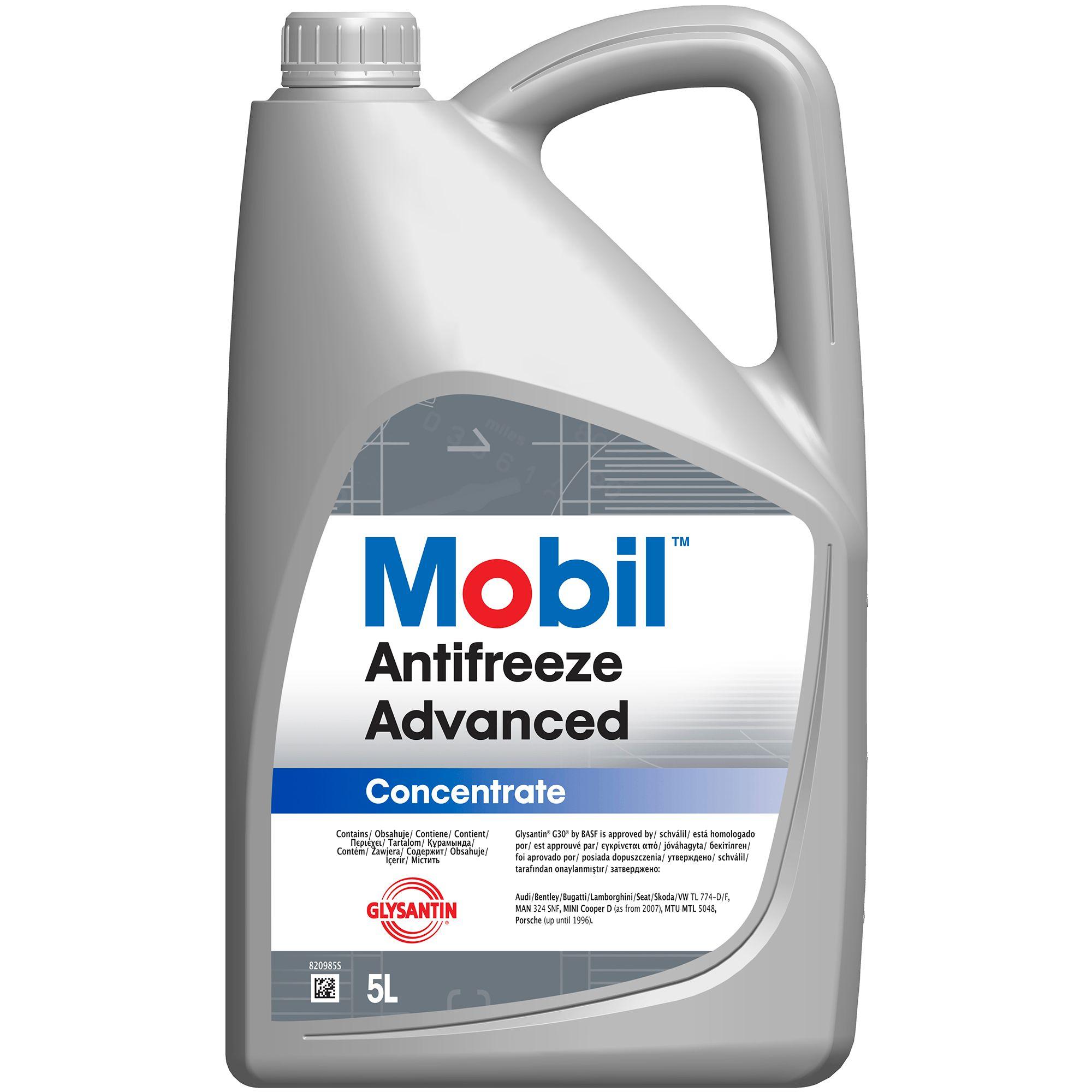 Antigel concentrat MOBIL Antifreeze ADVANCED G12+ 5L