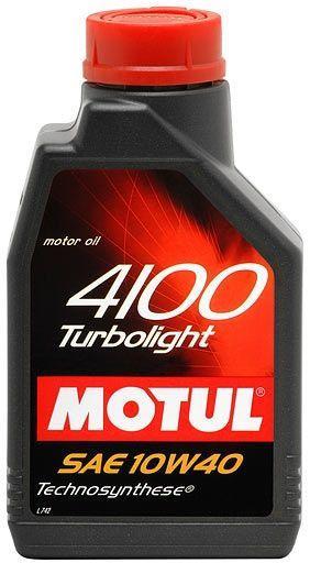 ULEI MOTOR MOTUL 4100 TURBOLIGHT 10W40 2L