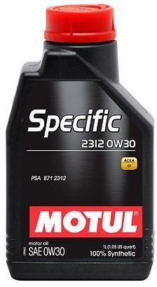 ULEI MOTOR MOTUL SPECIFIC 2312 0W30 1L