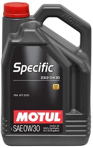 ULEI MOTOR MOTUL SPECIFIC 2312 0W30 5L