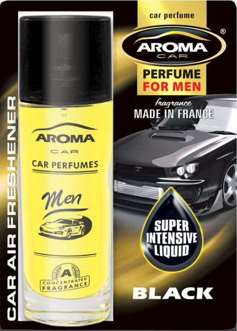 ODORIZANT MTM Aroma Car Spray Black 50ML