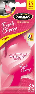ODORIZANT MTM Aroma Car Leaf Fresh Cherry 1 BUC