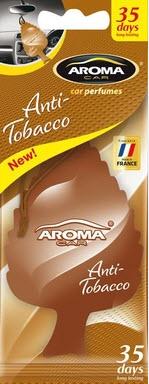 ODORIZANT MTM Aroma Car Leaf Anti Tobacco 1 BUC