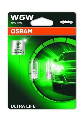 BEC AUTO OSRAM ULTRA LIFE 2825ULT-02B W5W 12V 5W