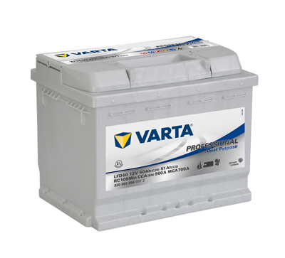 Baterie auto VARTA 930060056B912 Professional Dual Purpose 12V 60AH 560A