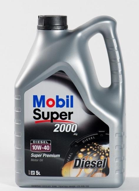 ULEI MOTOR MOBIL SUPER 2000 X1 DIESEL 10W40 5L