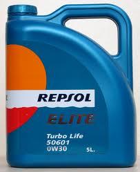 ULEI MOTOR Repsol Elite Turbo Life 50601 0W30 - 5L