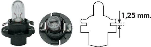 Bec bulb auto MAGNETI MARELLI 002053000000 PBX4 12V 1.2W