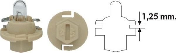 Bec bulb auto MAGNETI MARELLI 002053200000 PBX4 12V 1.5W