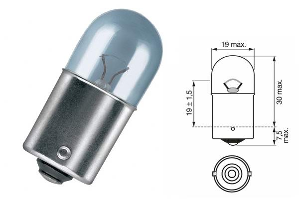 Bec iluminare auto MAGNETI MARELLI 004009100000 R10W 24V 10W