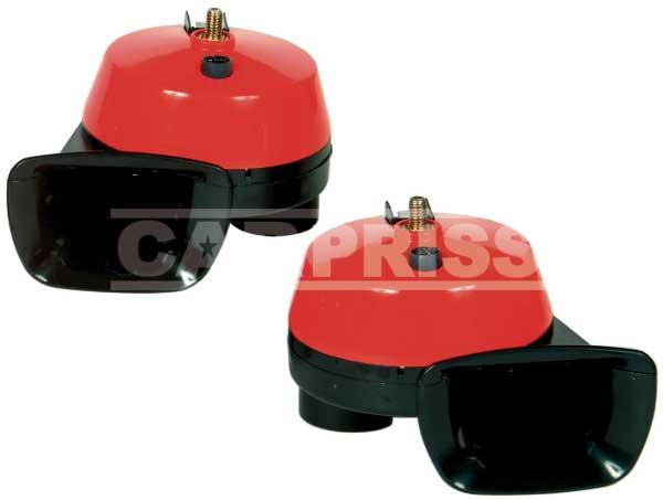 CLAXON CARPRISS 10675250 SET 2 BUC ROSU