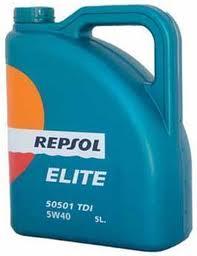 ULEI MOTOR REPSOL ELITE 50501 5W40 TDI 5L