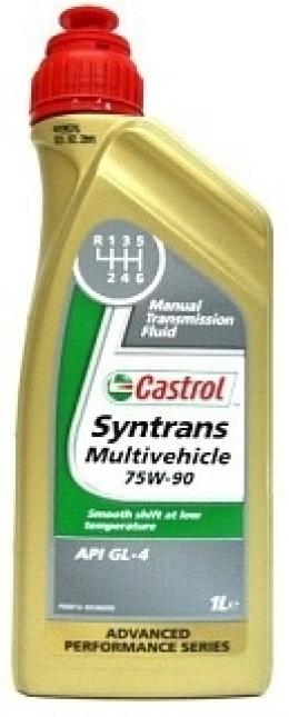 Ulei pentru cutie viteze manuala CASTROL SYNTRANS MULTIVEHICLEC 75W90 1L
