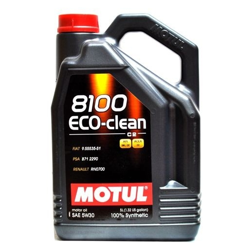 ULEI MOTOR MOTUL 8100 ECO-CLEAN 5W30 5L