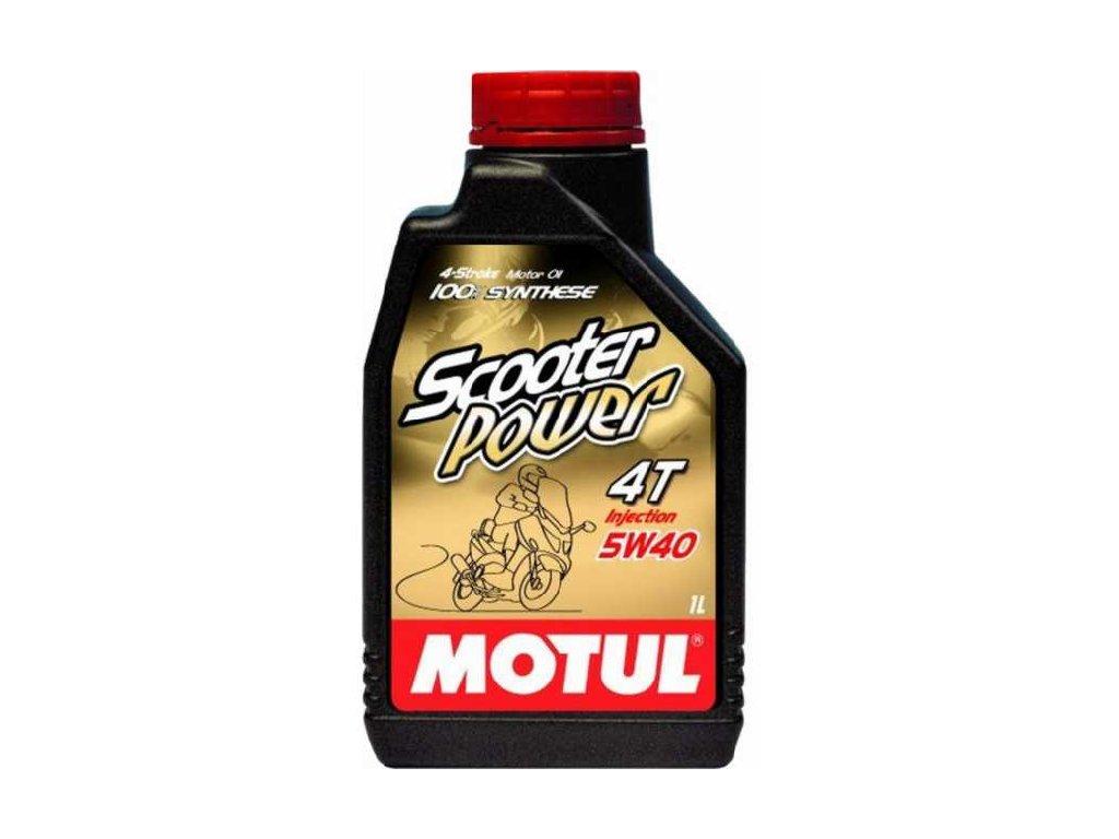 ULEI MOTOR MOTOCICLETA MOTUL SCOOTER POWER 4T 5W40 1L