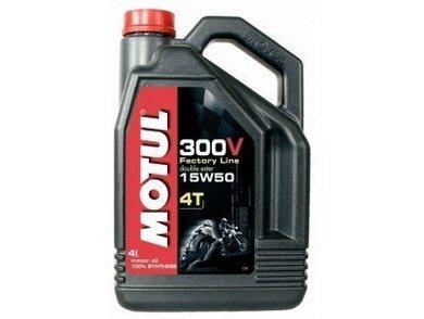 ULEI MOTOR MOTOCICLETA MOTUL 300V FACTORY LINE 15W50 4L