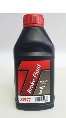 Lichid de frana TRW DOT 3 0.5L