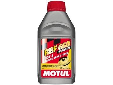 Lichid de frana MOTUL RACING BRAKE FLUID 660 FACTORY LINE DOT 4 0.5L