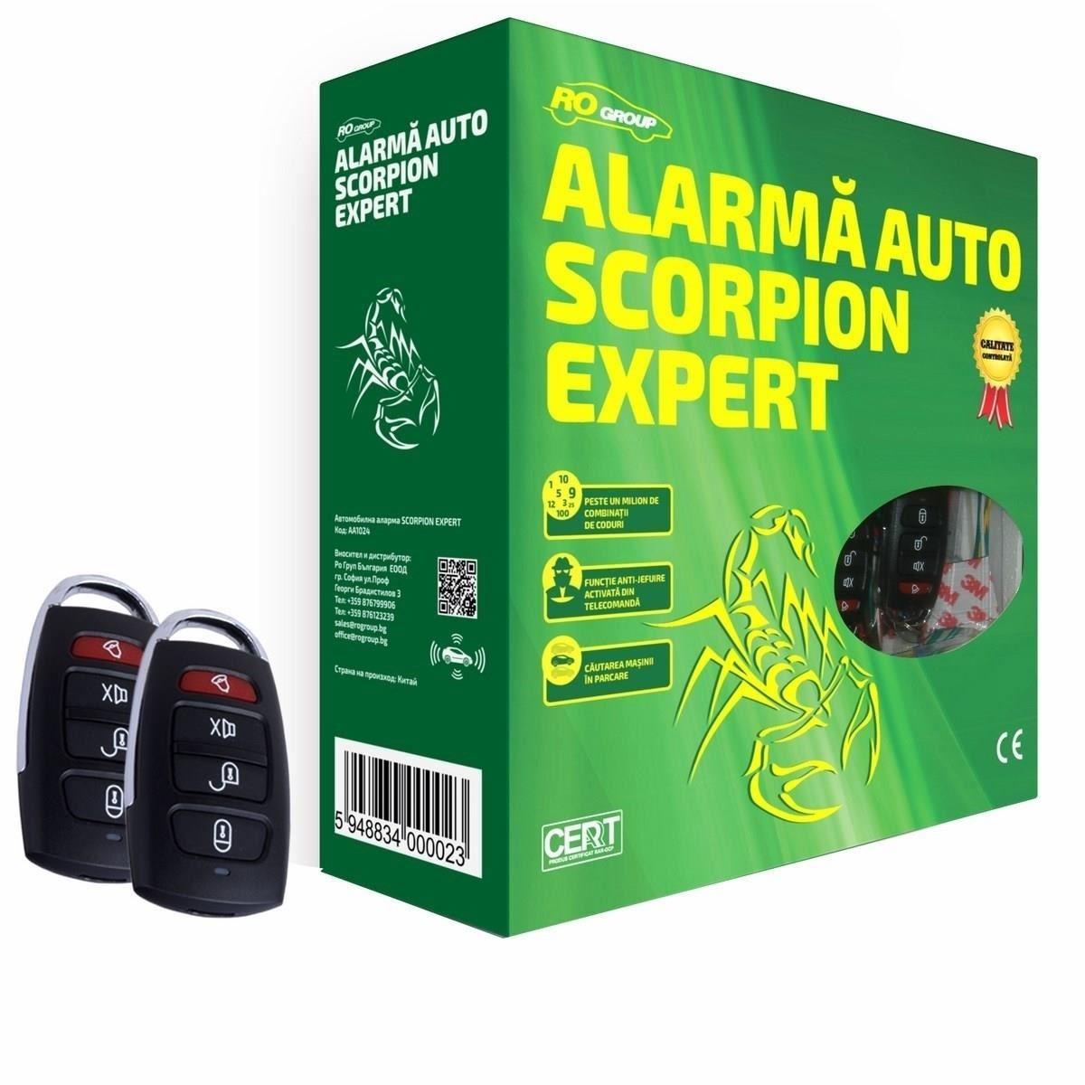 ALARMA AUTO MTR AA1024 SCORPION EXPERT