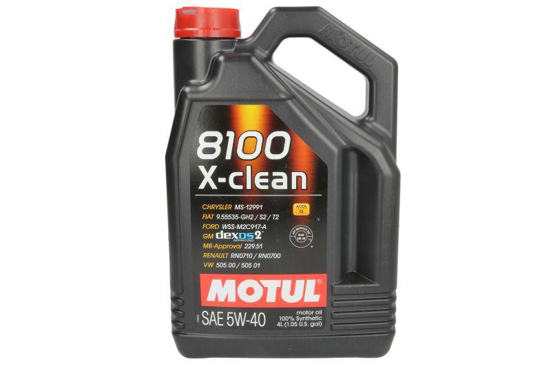 ULEI MOTOR MOTUL 8100 X-CLEAN 5W40 4L