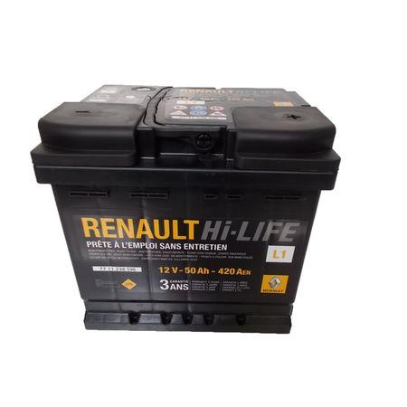 Baterie auto RENAULT 6001548896 HI-LIFE 12V 50AH 420A