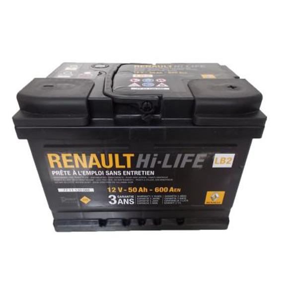 Baterie auto RENAULT 7711130088 HI-LIFE 12V 50AH 600A