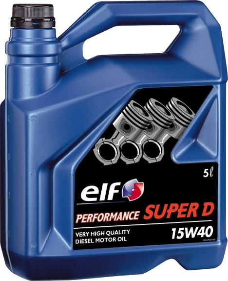 ULEI MOTOR ELF PERFORMANCE SUPER D 15W40 5L