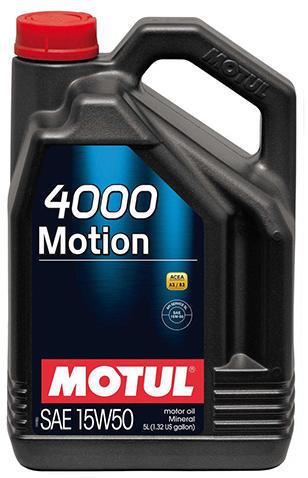 ULEI MOTOR MOTUL MOTION 4000 15W50 5L