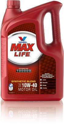 ULEI MOTOR VALVOLINE MAXLIFE 10W40 5L