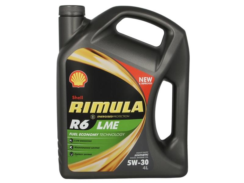 ULEI MOTOR SHELL RIMULA R6 LME 5W30 4L