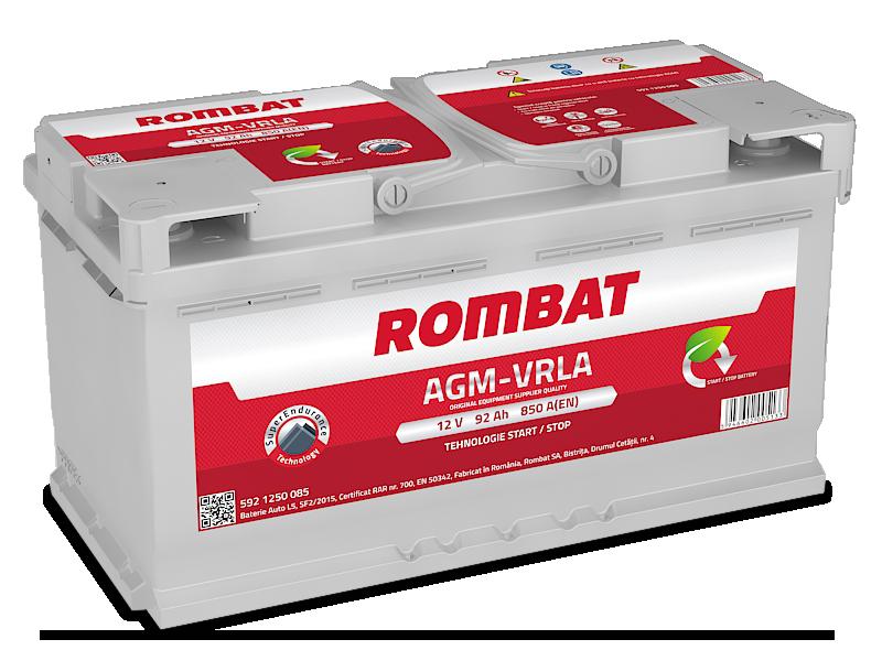 Baterie auto ROMBAT AGM VRLA 12V 92AH, 850A