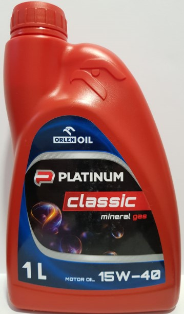 ULEI MOTOR ORLEN PLATINUM CLASSIC MINERAL GAS 15W40 1L
