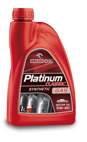 ULEI MOTOR ORLEN PLATINUM CLASSIC SYNTHETIC GAS 5W40 1L