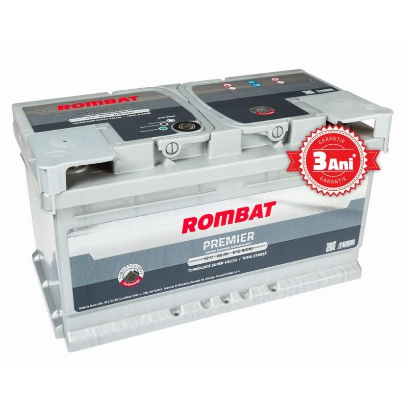 Baterie auto ROMBAT PREMIER 12V 85AH, 810A