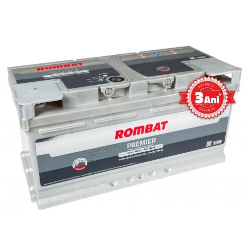 Baterie auto ROMBAT PREMIER 12V 80AH, 760A