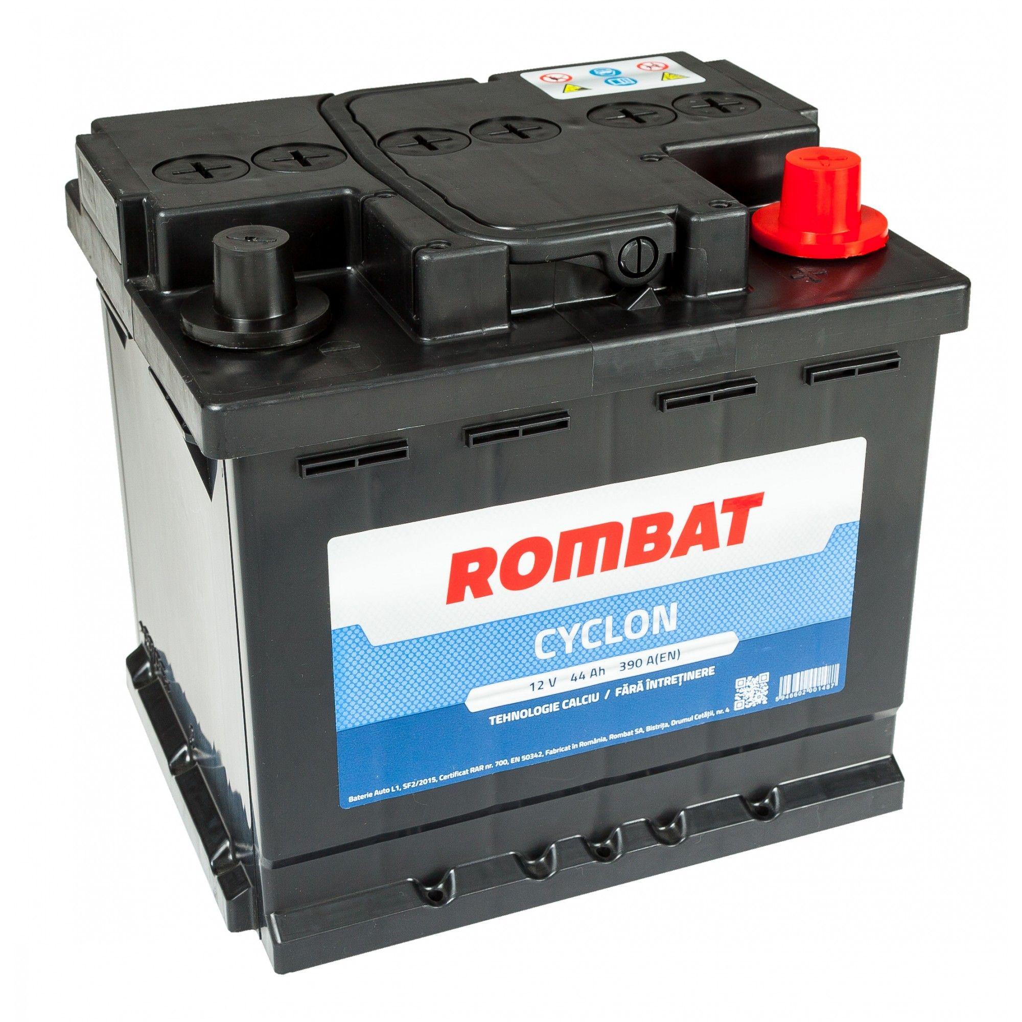 Baterie auto ROMBAT CYCLON 12V 44AH, 390A