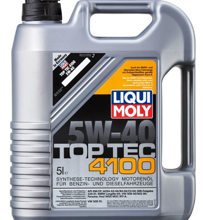 ULEI MOTOR LIQUI MOLY TOP TEC 4100 5W40 5L