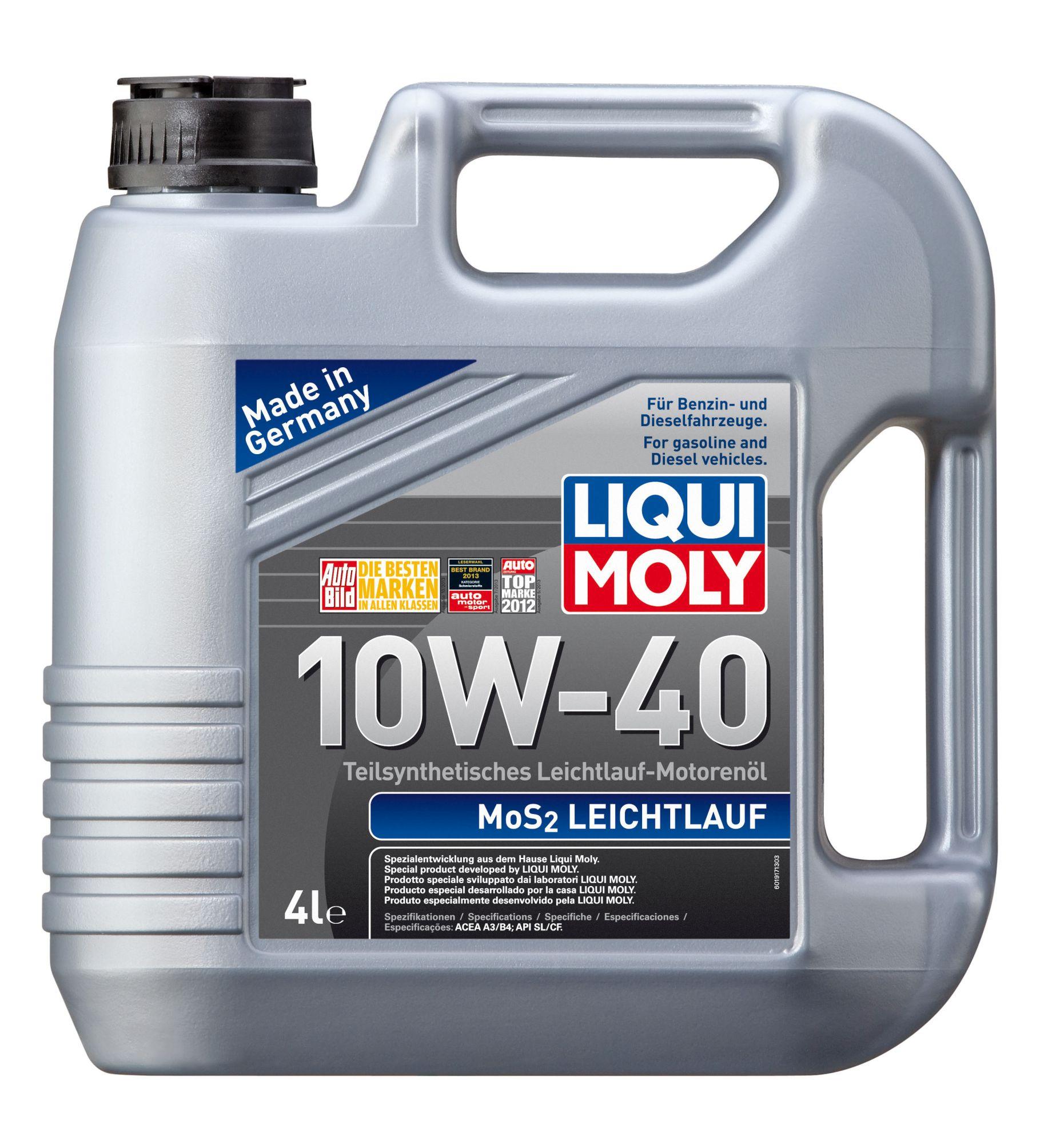 ULEI MOTOR LIQUI MOLY 6948/2627 MOS2 10W40 4L