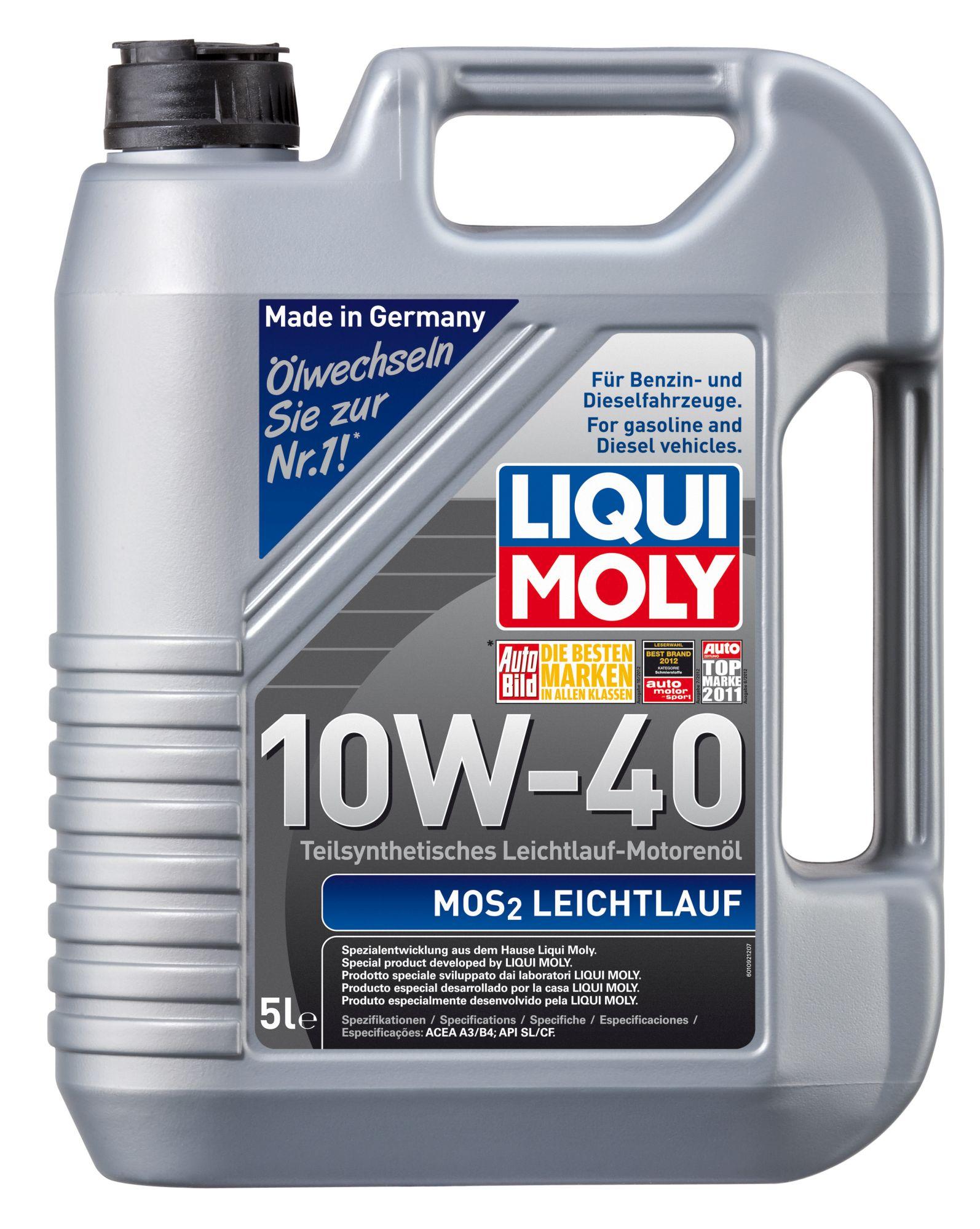 ULEI MOTOR LIQUI MOLY 2184 MOS2 10W40 5L