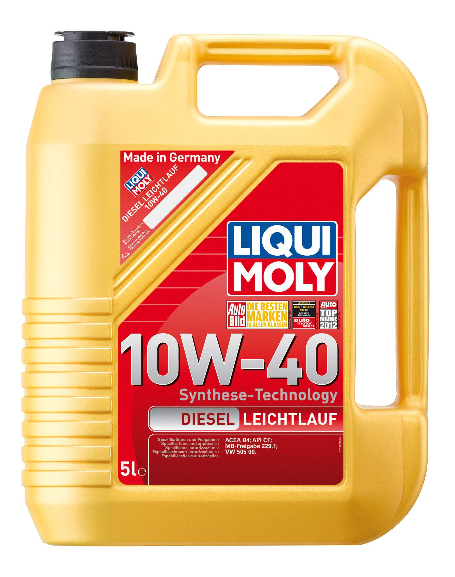 ULEI MOTOR LIQUI MOLY DIESEL 10W40 5L