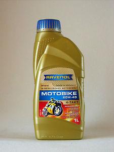 ULEI MOTOR MOTOCICLETA RAVENOL 1173123 Motobike 4-T Mineral 20W40 1L