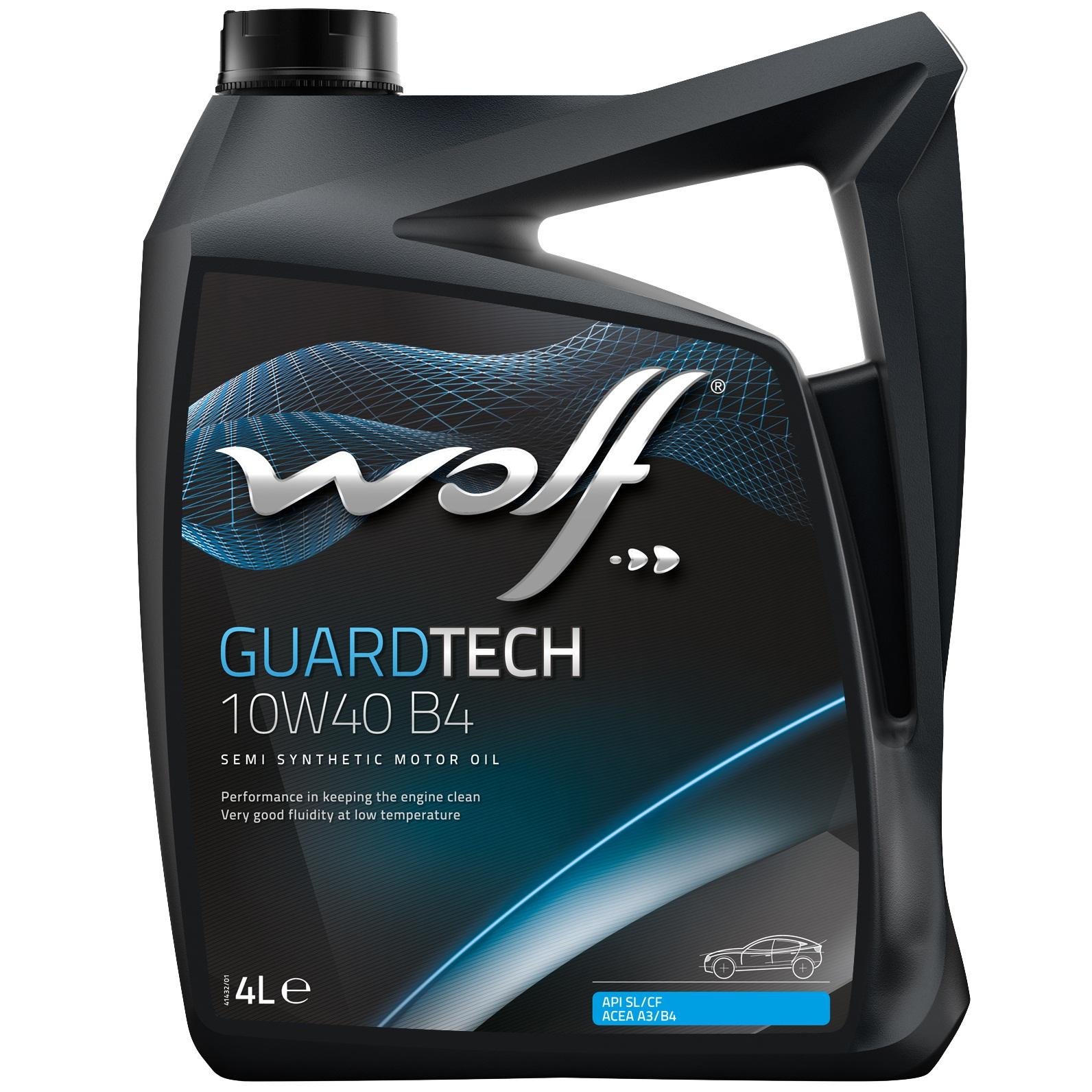 ULEI MOTOR WOLF GUARDTECH B4 10W40 4L