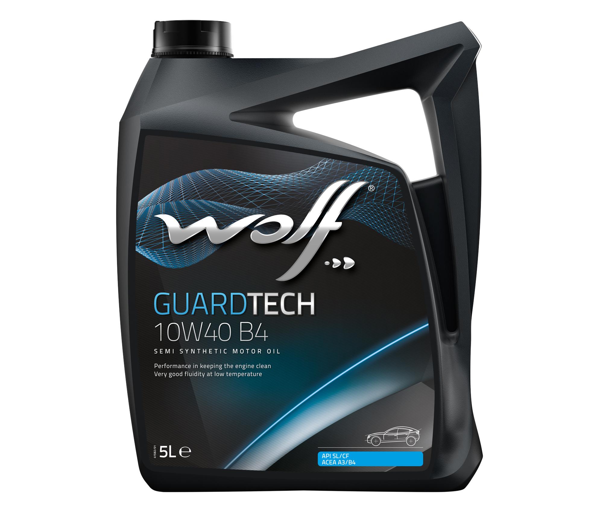 ULEI MOTOR WOLF GUARDTECH B4 10W40 5L