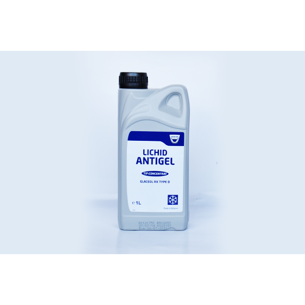 Antigel fara silicati OE DACIA/RENAULT 6001997196 GLACEOL RX TYPE D (GALBEN) 1L