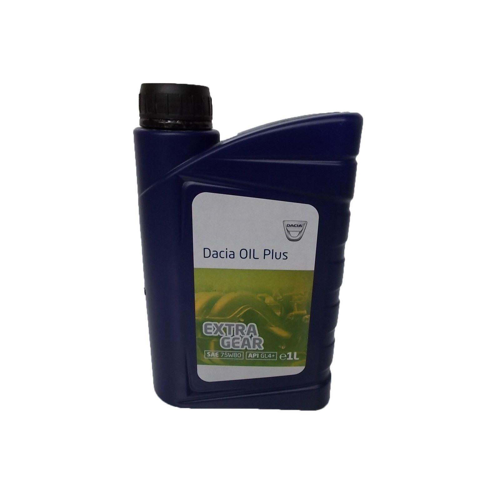 Ulei pentru cutie viteze manuala OE DACIA 6001999717 OIL PLUS EXTRA GEAR 75W80 1L