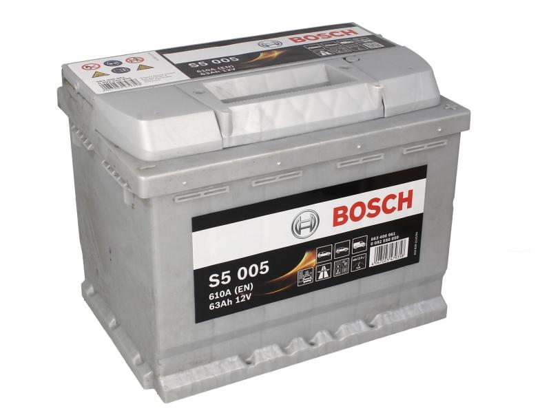 Baterie auto BOSCH 0092S50050 12V 63AH 610A