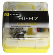 SET H1/H7 PLUS 7 BECURI 12V 55W