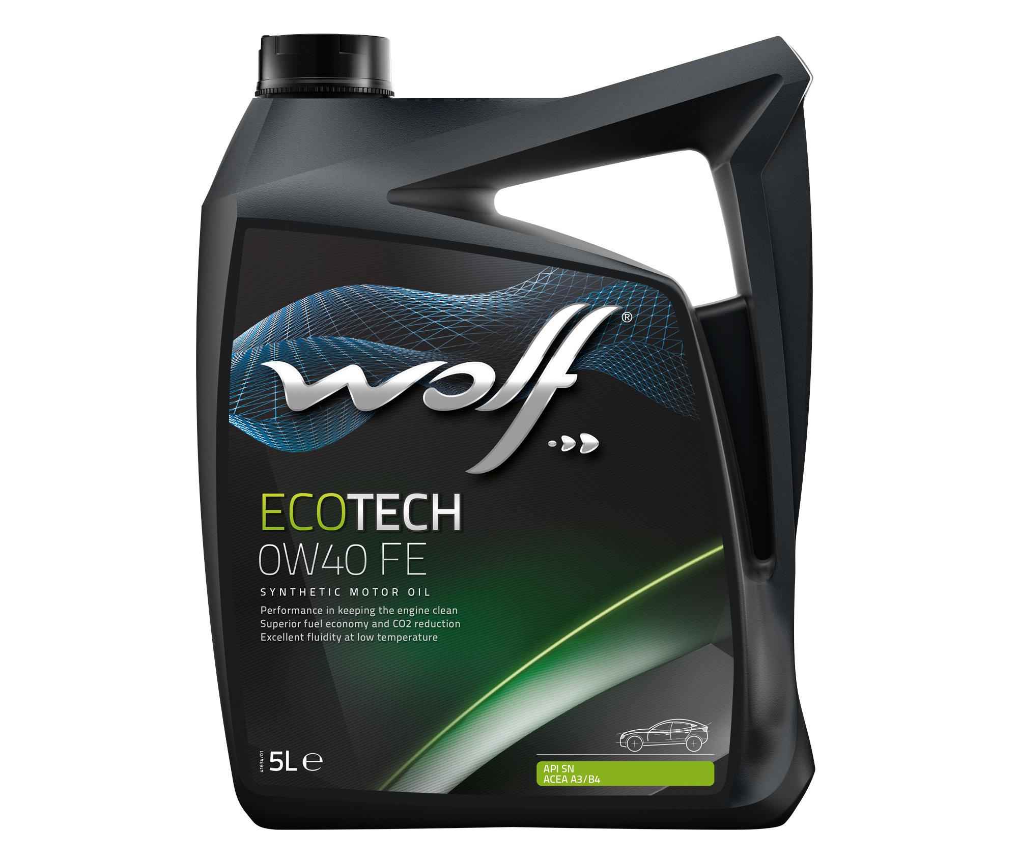 ULEI MOTOR WOLF ECOTECH FE 0W40 5L