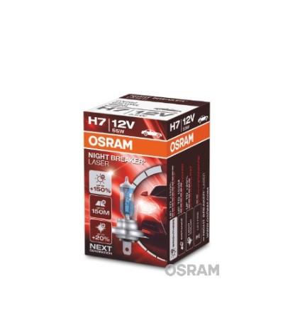 BEC AUTO OSRAM NIGHTBRAKER LASER Gen2 H7 12V/55W +150%